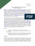 Case Digest.constilaw.marbury v. Madisaon