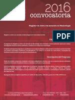 Magister en Artes Mencion Musicologia PDF 500 Kb