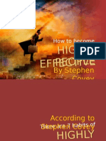 How to Become Highly Effective People