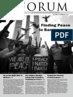 Finding Peace in Bangsamoro