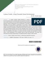 3 Carbon Credit