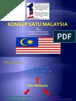 Konsep Satu Malaysia