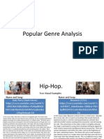 Popular Music Genre Analysis