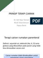Prinsip Terapi Cairan1