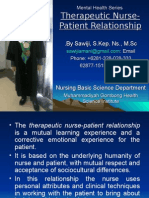 02 Therapeutic Nurse Patient Relationship