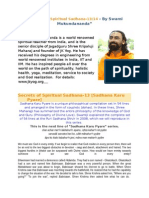 Secrets of Spiritual Sadhana Part 13 14