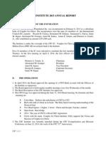 Cfci 2015 Annual Report 8.26.15