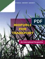 Biofuels for Transport