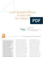 Chief Growth Officer - A New Role for Todays CFO