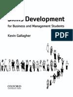 Skills development by Kevin Gallagher