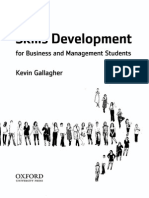 Skills development by Kevin Gallagher