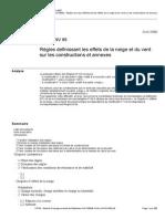 Vent Règles NV 65 Règles Definissant Les Effets de La Neige Et Du Vent Sur Les Constructions Et Annexes