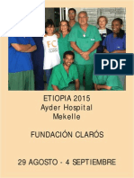 Viaje Humanitario Etiopía 2015