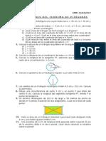 Pitágoras y Áreas