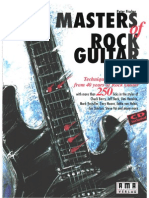 Masters of Rock Guitar the Peter Fischer VOLLEDIG