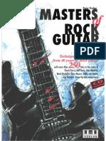 Masters of Rock Guitar the Peter Fischer VOLLEDIG