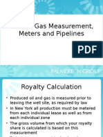 Pipeline Metering and Siting