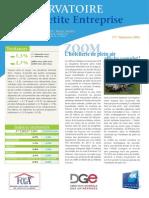 Observatoire de la petite entreprise n° 58 FCGA - Banque Populaire