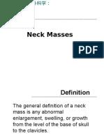 - neck mass