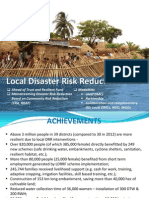 Local Disaster Risk Reduction Fund