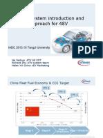 48V HEV System - Infineon