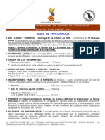 6º Torneo Internacional de Ajedrez de Cocentaina 2015