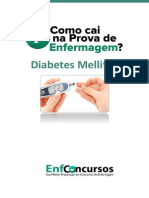 Diabetes -  Como Cai na Prova de Enfermagem - EnfConcursos Baixar Download [EBOOK]