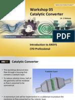 CFD Pro 14.5 WS05 Catalytic Converter CFX