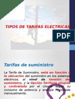 Tipos de Tarifas Electricas