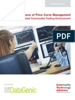 The Importance of Price Curve Management in a More Regulated Commodity Trading Environment