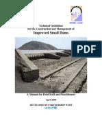 Tech Guide - Small Dams UNICEF