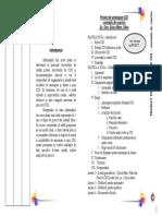 Realizarea unui CDI