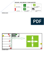 Mapa de Riesgos, Recursos y Evacuacion
