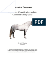 Connemara Pony Discussion Document October 2015