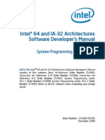I64 and IA32 Architectures Software Developers Manual