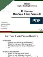2 L__Main topics