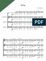 Heilig - Schubert TTBB
