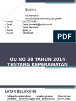 PAPARAN UU NO 38 TAHUN 2014 KEPERAWATAN.ppt