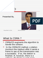 CSMA-CD Presentation by ashutosh mishra