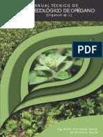 Manual Cultivo Ecologico Oregano