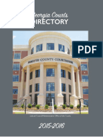 GA Courts Directory 2015-2016