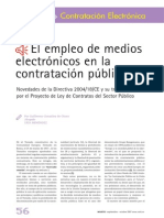 El Empleo de Medios Electrónicos en La Contratación Pública