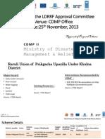 LDRRF Schemes in Khulna, Jamalpur, Kurigram, Bandarban, Chandpur, Nilphamari, Borguna, Bhola, Chittagong, Pirojpur