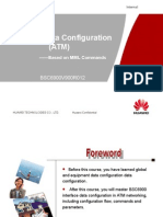 BSC6900V900R012 UO Interface Data Configuration(ATM)-20101218-B-V1.0