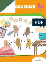 April Fools Fun Workbook