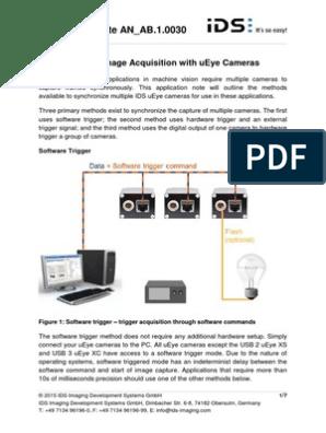Synchronizing Image Acquisition UEye Cameras En | Flash