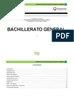 Plan de Estudios Bach Gral