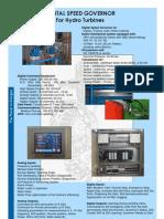 Brochure Hydro Turbine Governor