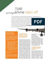 The SESAR Programme Takes Off