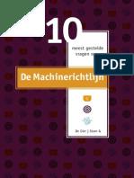 De 10 Meest Gestelde Vragen Over de Machinerichtlijn